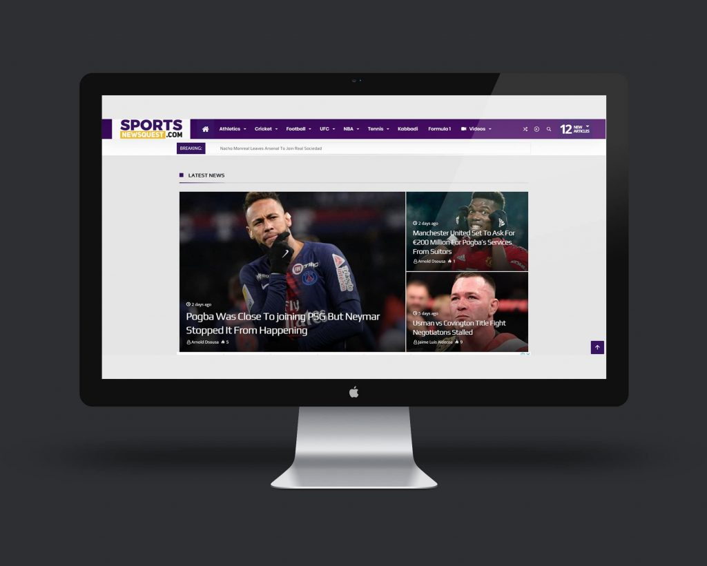 Sports News Quest